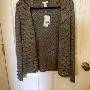 NWT Chico's Dress Sweater, Size 1